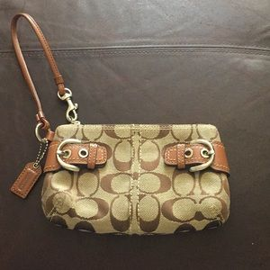 Mint Condition Coach Wristlet